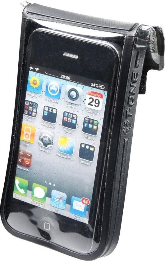 T-one Telefoonhoes Met Houder 13 Cm Zwart