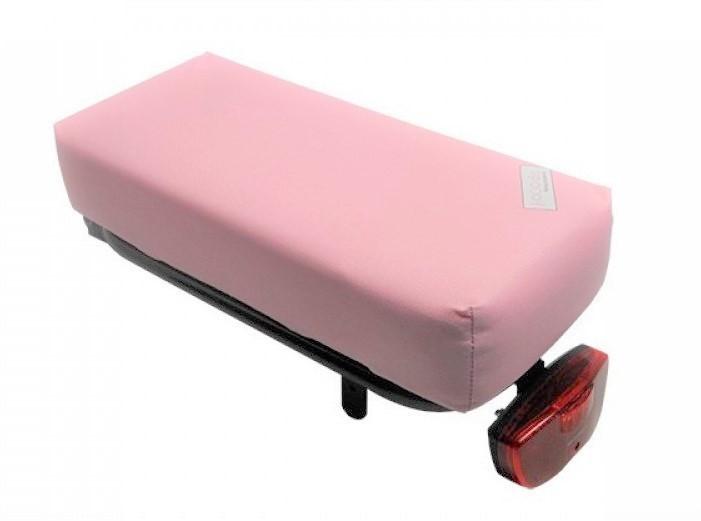 Hooodie Big Cushie bagagedragerkussen Baby Roze