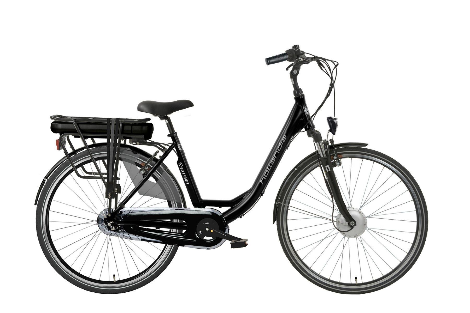 Hollandia E-Street E-bike N3 D49 black