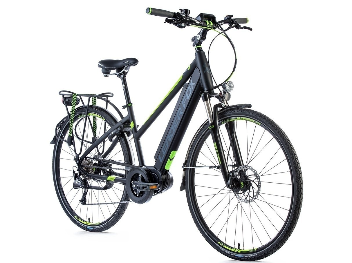 Leader Fox E-Bike Lucas Lady 9V model 2018 met middenmotor