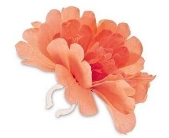 Basil Flower Pioenroos oranje losse bloem
