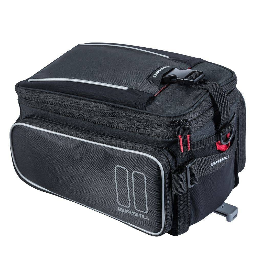 Basil bagagedragertas Sport Design MIK 7-15L zwart