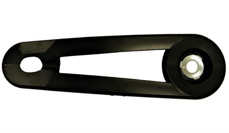 Hesling Kettingkast Xcero 28 inch mat zwart
