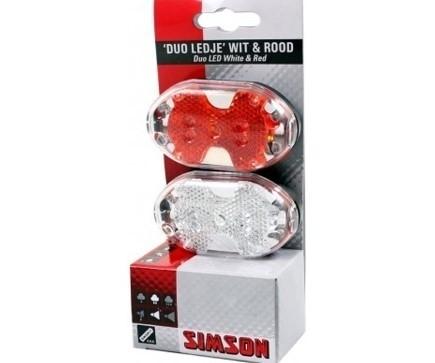 020757 Simson Batterij Verlichting Set LED