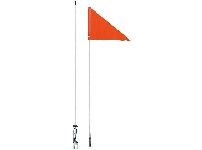 Veiligheidsvlag Kinderfiets Oranje