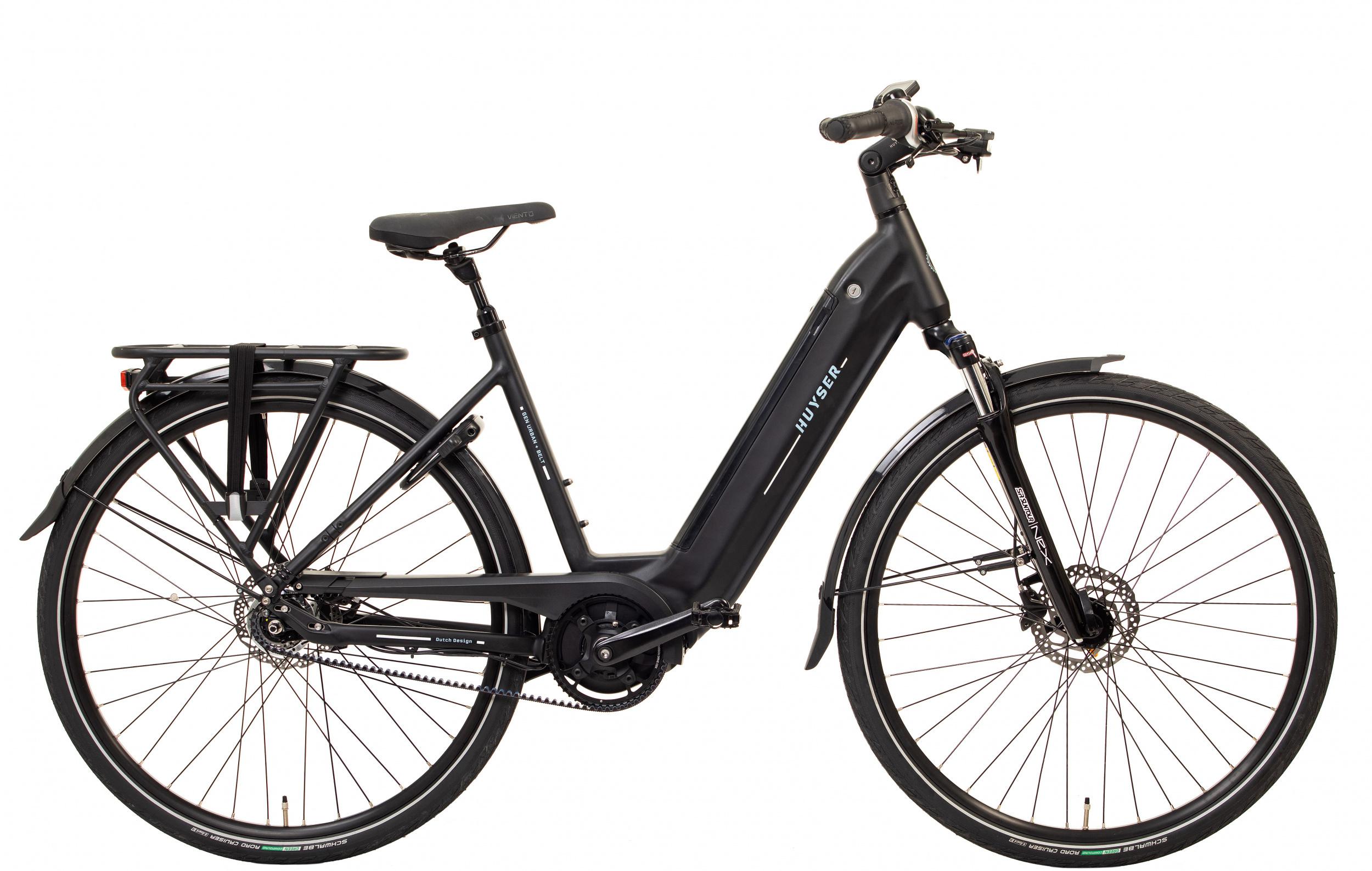 Huyser Gen Urban Plus Belt elektrische fiets 7V met middenmotor