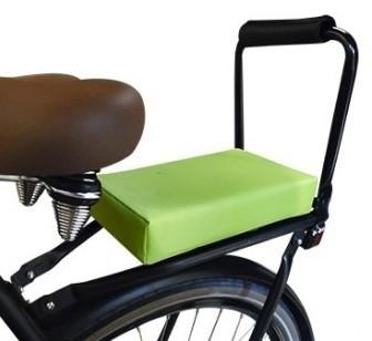 Flo en Zo fietskussen lime