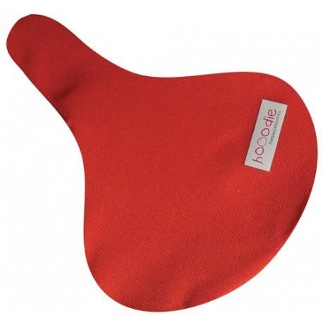 Hooodie Zadelhoes Rood Solide
