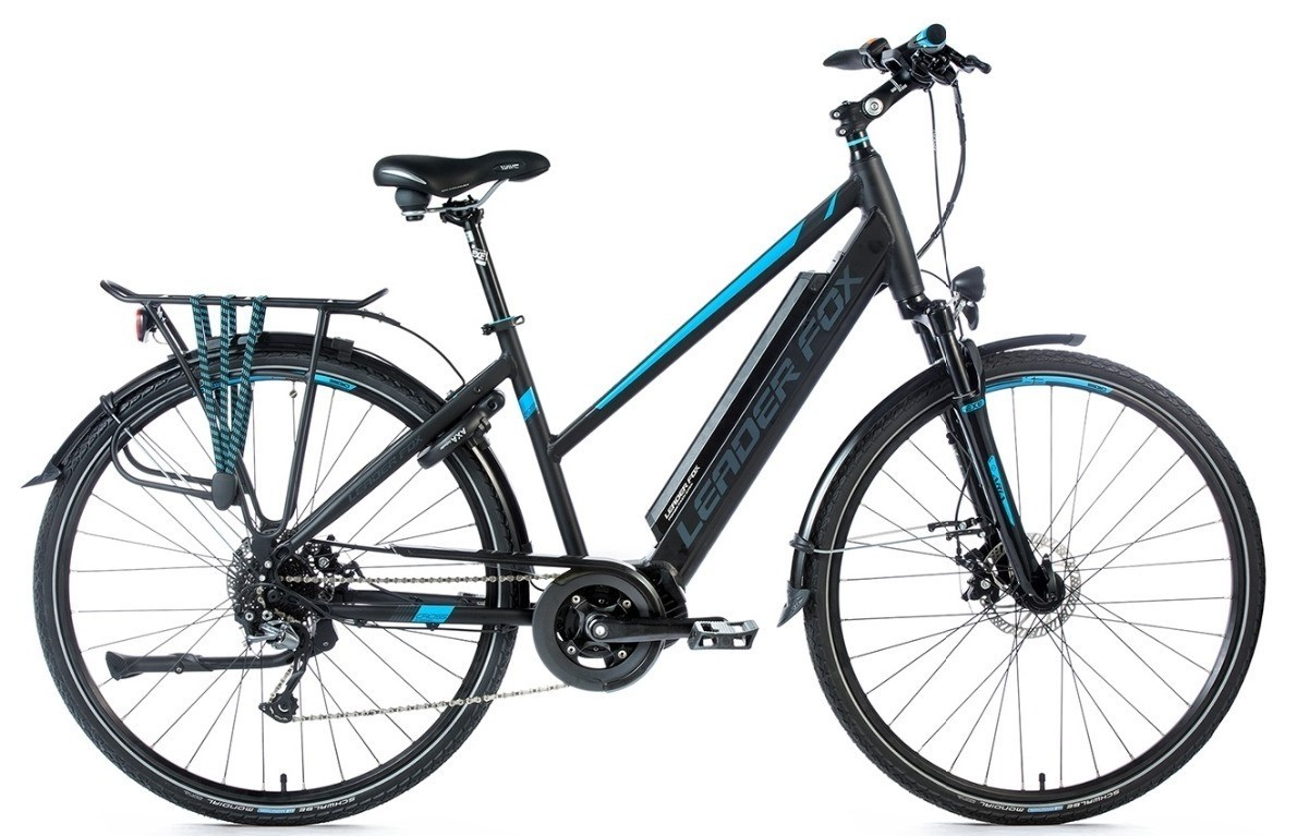 Leader Fox E-Bike Denver Lady 8V model 2018 met middenmotor