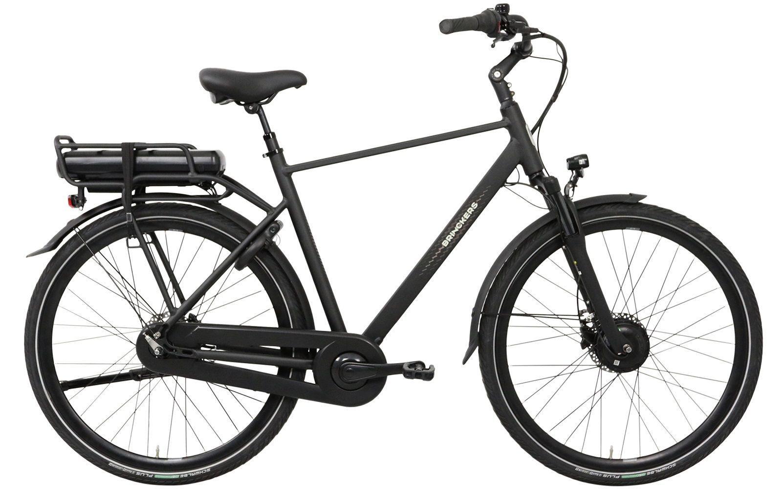 Brinckers Boston heren elektrische fiets 8V met voorwielmotor