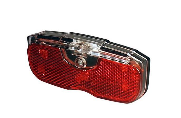 Union LED achterlicht E-bike 6-15V 1x LED + lichttunnel