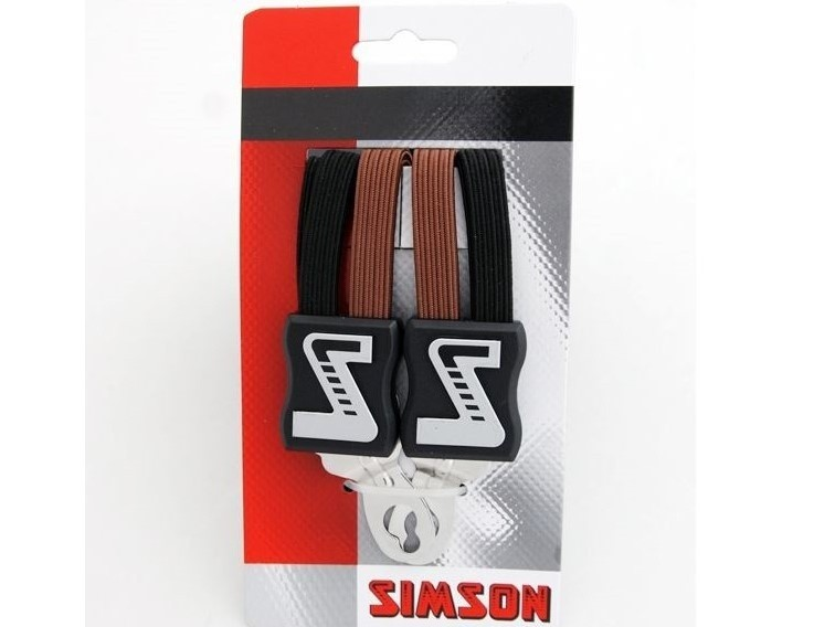 021354 Simson Snelbinder Extra Sterk zwart-bruin