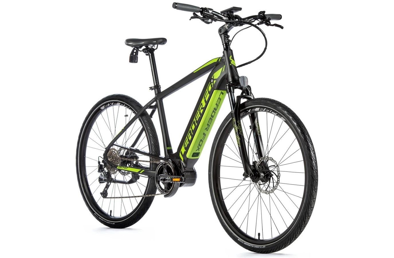 Leader Fox Cross E-Bike Bend
