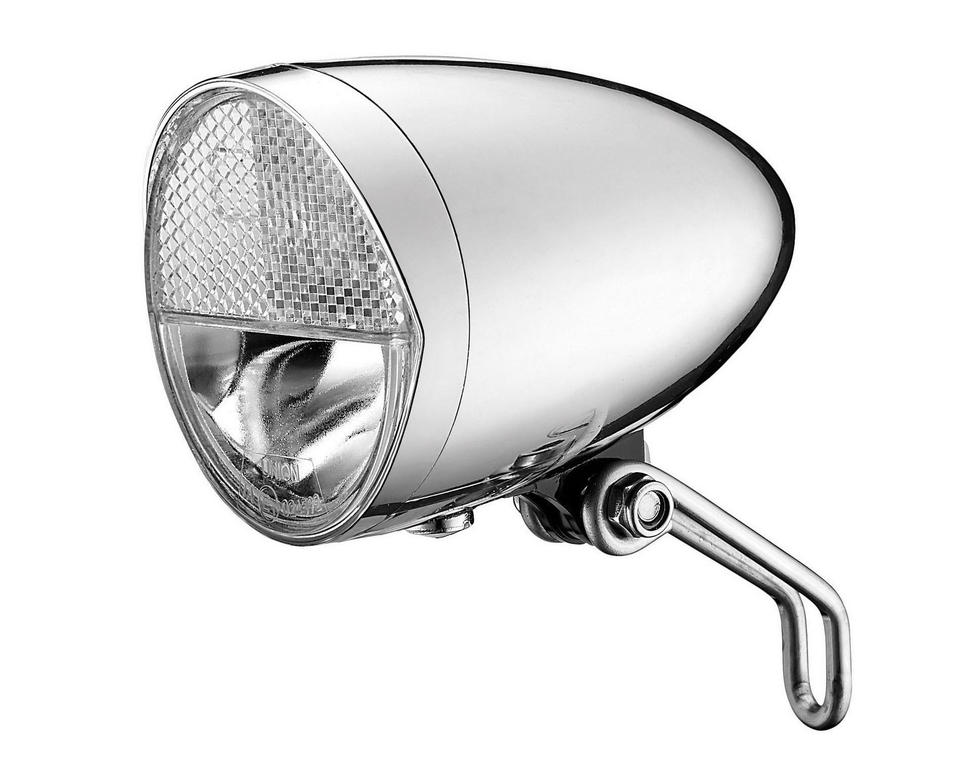 Union LED Classico koplamp E-bike 6-48v 30 LUX chroom