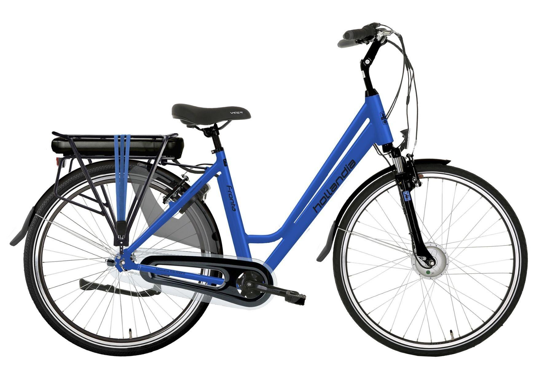 Hollandia Fronta 7V E-bike blauw