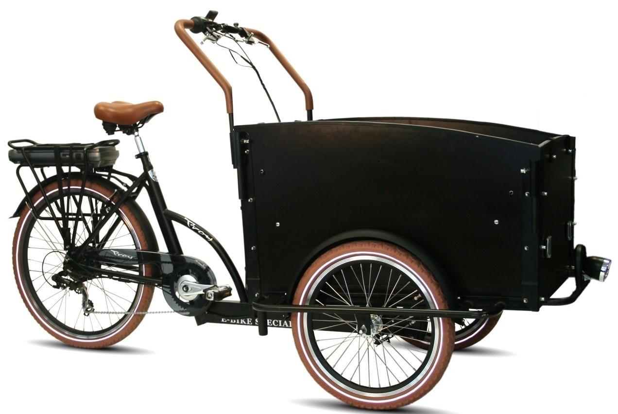 Troy E-Bike Bakfiets 7 versnellingen 13Ah