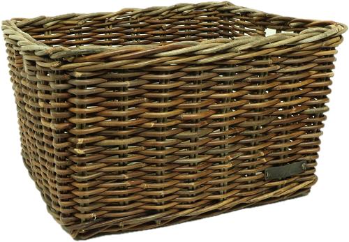 Wicked Rietenmand Groot bruin (50x40x30)