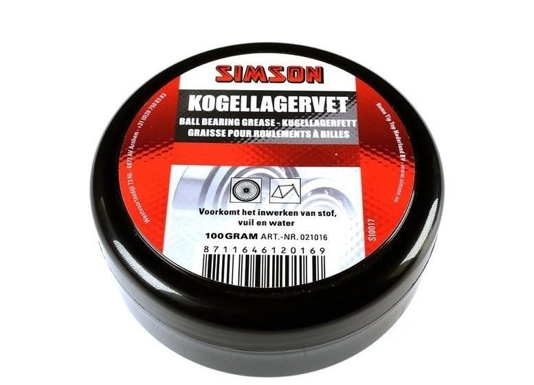 Simson Kogellagervet 100 gram 021016