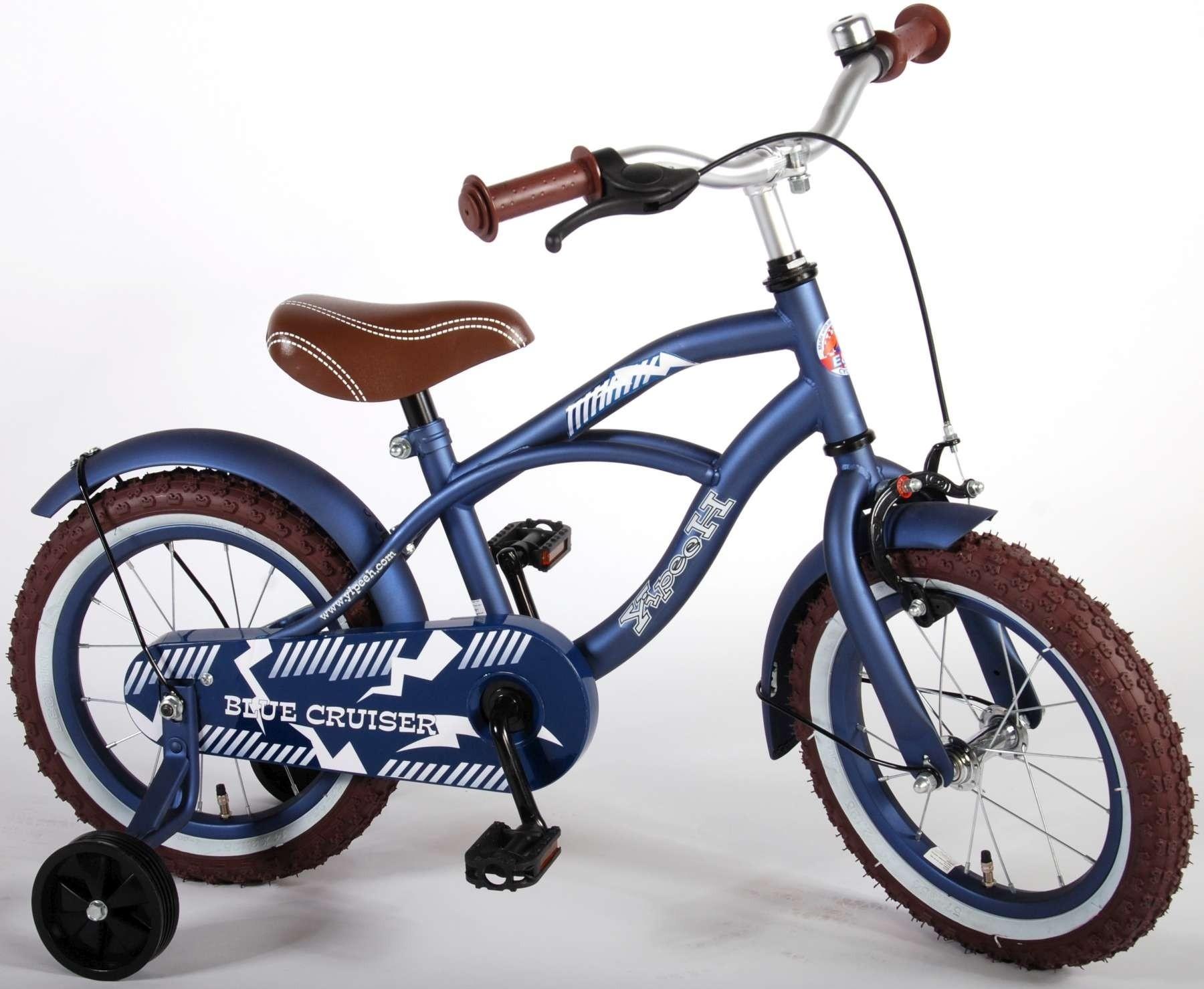 Yipeeh Blue Cruiser 14 inch jongensfiets 51401