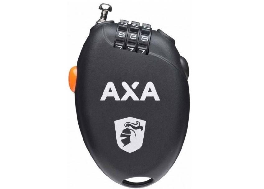 AXA Roll uittrek slot 75cm/1.6mm zwart