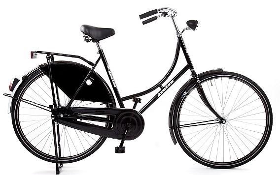 Oma Avalon Basic 28 inch zwart 57 cm