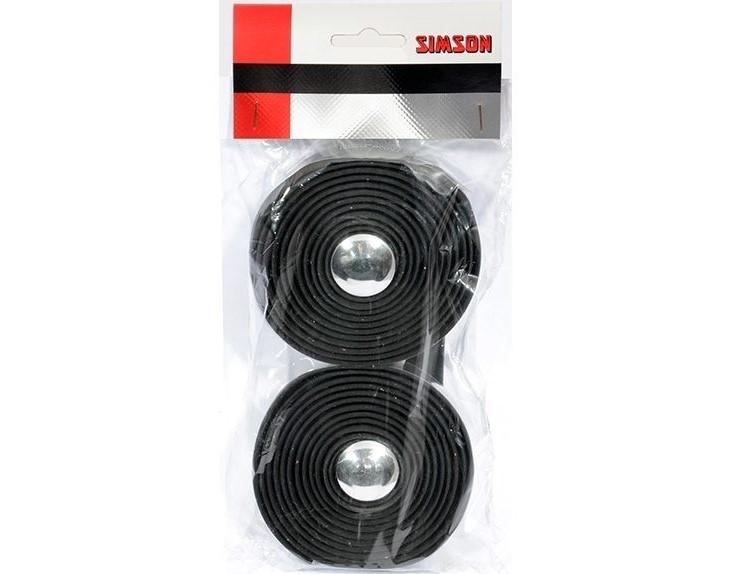 Fietsstuurlint 021812 Simson Tape Gel Zwart
