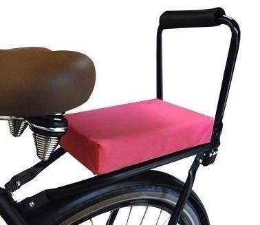 Flo en Zo fietskussen roze