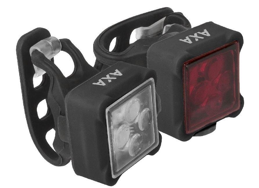 AXA Verlichtingsset Niteline 44 LED batterij zwart