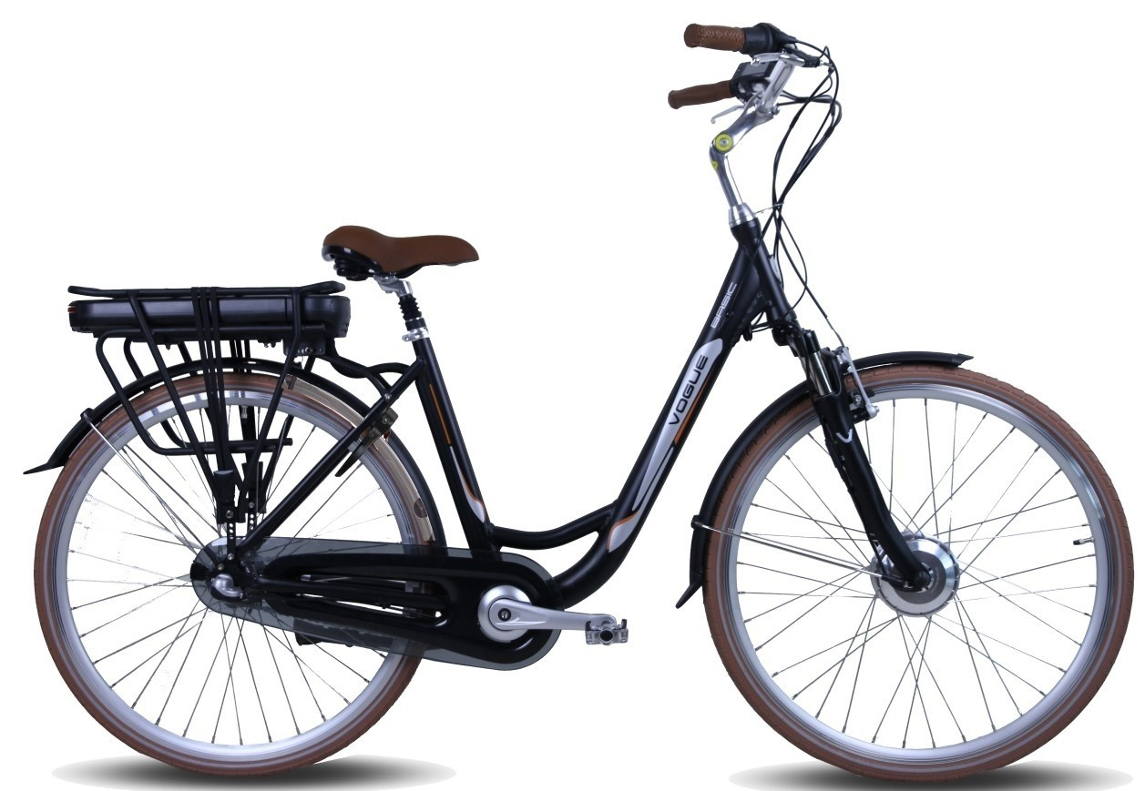 Vogue E-Bike Basic Model 2018 3V (13Ah) met voorwielmotor