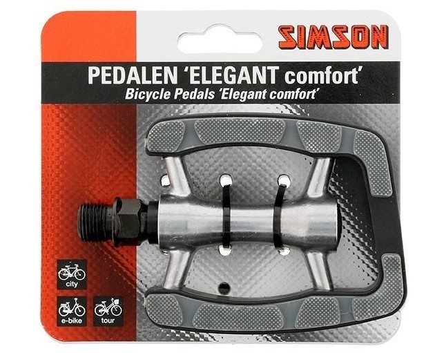 021980 Simson Pedalen Elegant comfort