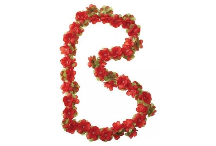 Basil Flower Garland rood bloemenslinger