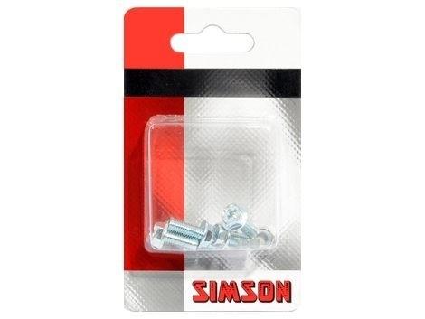 Simson Spatbordboutjes M5 x 12 p/5 020928