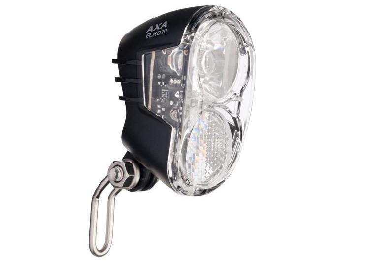 AXA Koplamp Echo30 Switch Led 30 lux dynamo aan/uit