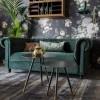 Afbeelding van Chester sofa velvet dark green