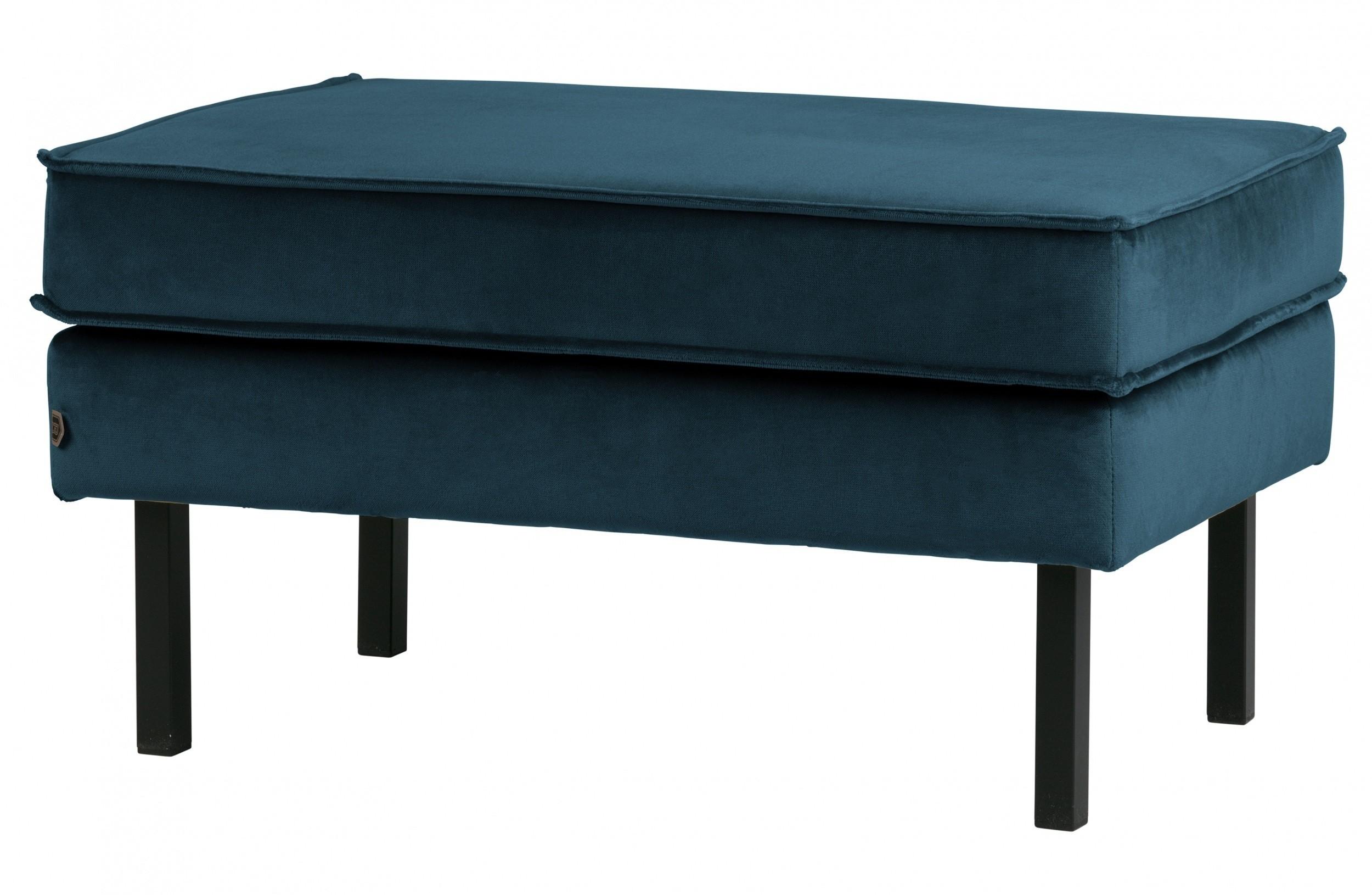 Verwonderlijk Rodeo hocker velvet blauw - Living27's shop AI-98