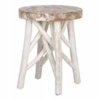 Foto van Table white forest