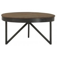 Foto van Coffee table round medium