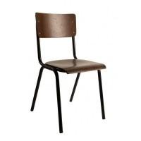 Foto van Scuola stoel 4 stuks