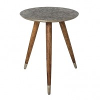 Foto van Bast side table metal