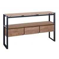 Foto van Console table, 3 drawers, 1 open rack