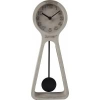 Foto van Clock pendulum time concrete