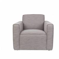 Foto van Bor sofa 1-seater grey