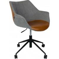 Foto van Office chair dolton vintage brown