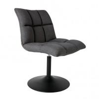 Foto van Mini Bar chair donkergrijs 2 stuks