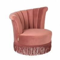 Flair lounge chair pink