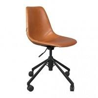 Foto van Franky office chair cognac