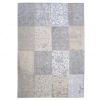 Foto van Cameo vloerkleed Patchwork Gustavian Blue 280 x 360 cm