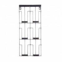 Foto van Paper kaartenrek metaal zwart