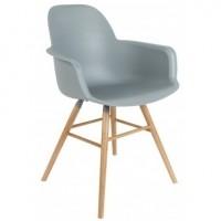 Foto van Albert kuip arm chair light grey 2 st.