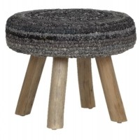 Foto van Stool earl grey medium